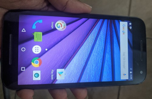 MOTO G 3RD GENERATION FOR SALE
