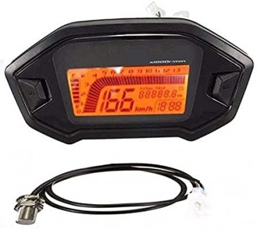 Digital Universal Speedometer With Sensor