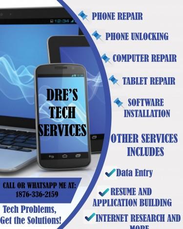 Phone And Computer Repair And Unlocking