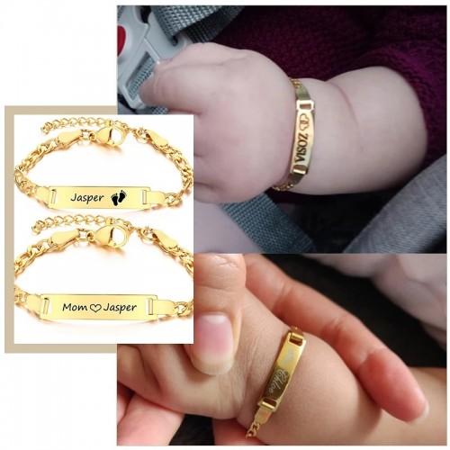Baby Custom Name Bracelet