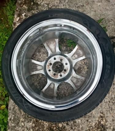 17 Chrome Rims & Tires
