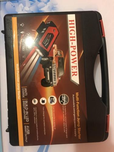 12V Portable Jump Starter Power Bank