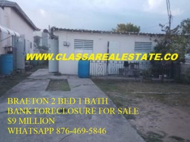 2 BEDROOM 1 BATH BANK FORECLOSURE FOR SALE