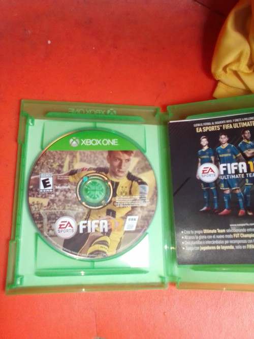 Fifa 17 Cd Xbox One Clean No Scratch Everything Up
