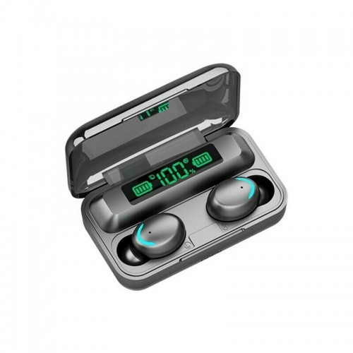 F9 TWS Bluetooth 5.0 LED Headset Wireless Earphone
