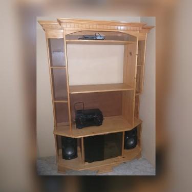Entertainment Center & Panasonic Component Set