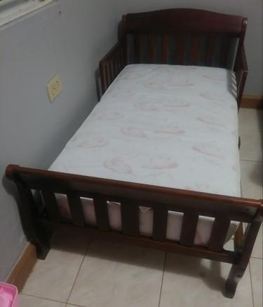 Toddler Bed & Mattress