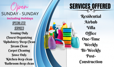 Part-time Housekeepers  And Housemen Needed!