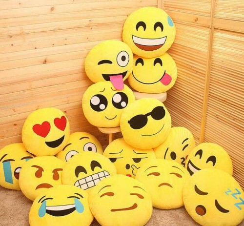 Emoji Pillows And Bluetooth Speakers