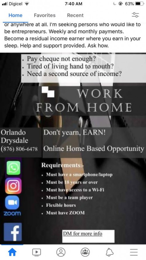 Home Based Opportunity