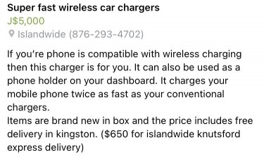 Super Fast Wireless Car Chargers