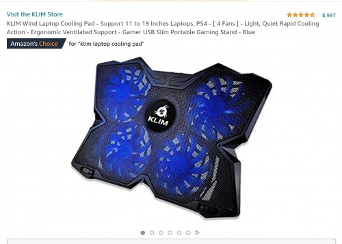 GLOWIMG LAPTOP COOLING PAD AND MOUSE