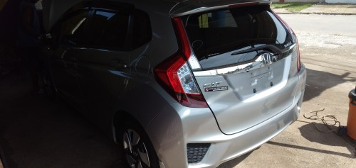 Grey 2014 Honda Fit Hybrid