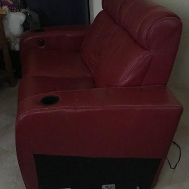 Yard Sale!  Leather Sofa
