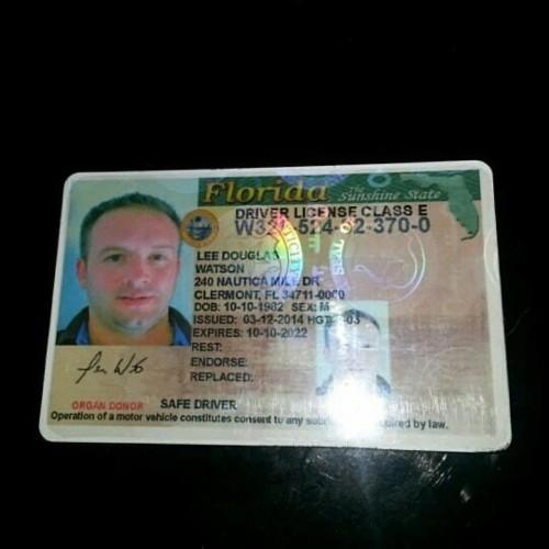 Legit Driving License