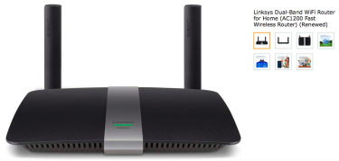 Renewed Linksys Dual-Band WiFi Router AC1200 Fast