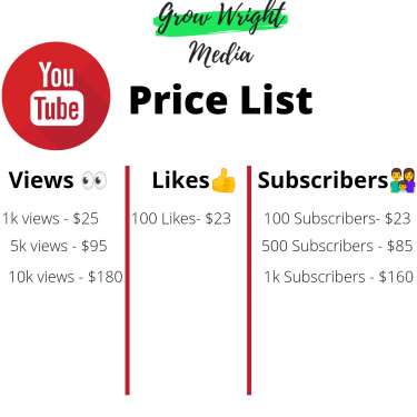 Buy Real YouTube Views, Subscribers And Likes