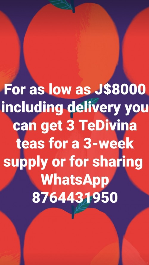TeDivina Detox Tea With Weight Loss Benefit