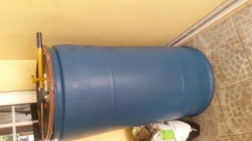 Blue Plastic Barrel For Sale