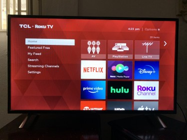 TCL 43 Inch HD Tv, 1080p Comes With Netflix