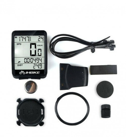 Wireless Bicycle Bike LCD Digital Speedometer