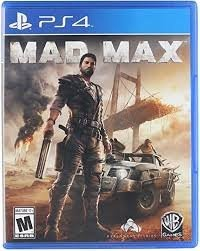 Mad Max Game Cd For Ps4