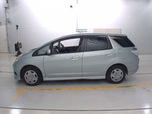 HONDA FIT SHUTTLE [HYBRID][2012][LIGHT GREEN]