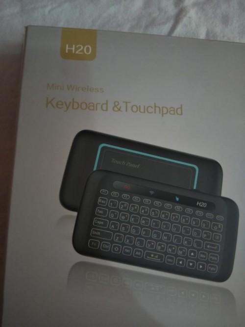 Mini Two Side Wireless Keyboard