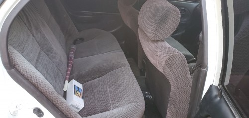1992 XE Toyota Corolla Sedan Motorcar-White-Auto