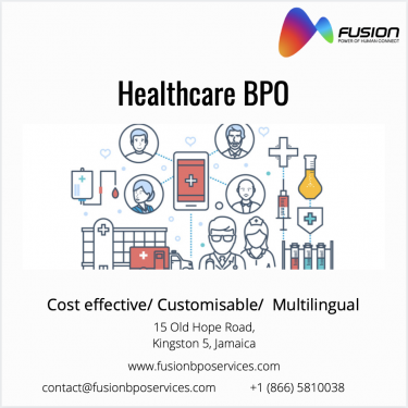 Healthcare BPO In Jamaica - Fusion BPO Services