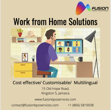 Work From Home Solutions - Fusion BPO Services