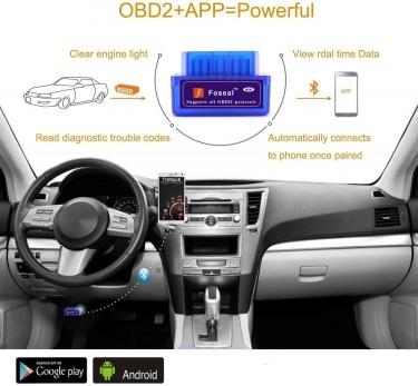 Bluetooth OBDII Car Diagnostic Check Engine Light