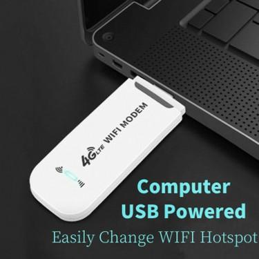 UNLOCK 4G LTE USB WiFi Modem ,SIM Card Hotspot