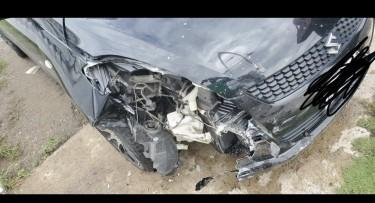 2013 Crash Suzuki Swift