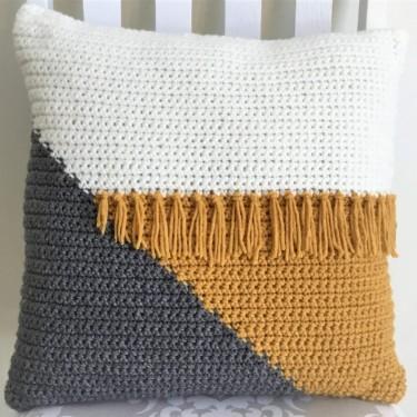 Crochet Cushion 18in