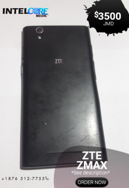 ZTE ZMAX, Unlocked
