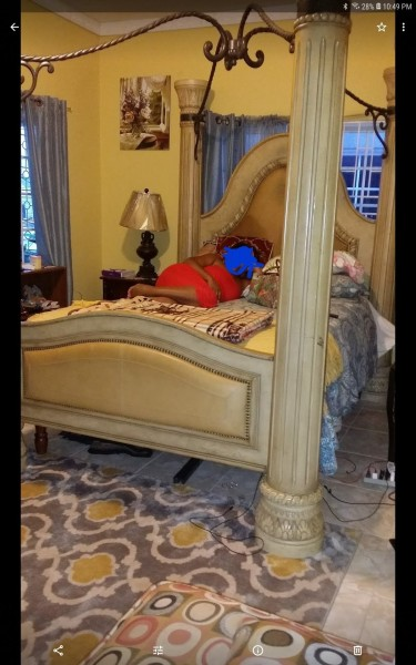Ashley Canopy Bed