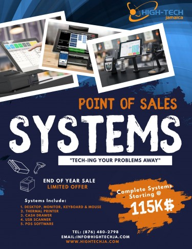 COMPLETE POS SYSTEMS $115K