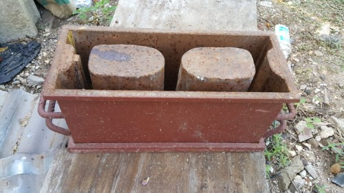 Made By Order Hand Mould Hollow Concrete Block Mac