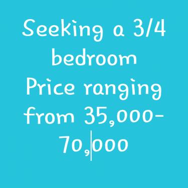3 / 4 Bedroom