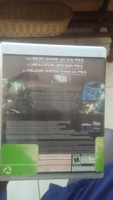 Sony PlayStation 3 CALL OF DUTY 4