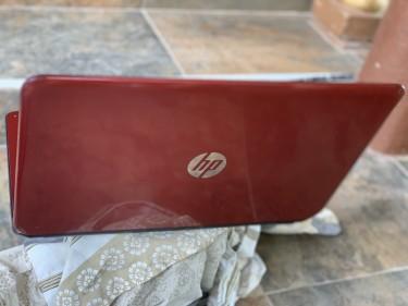 Red Hp Laptop