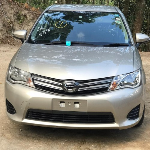 2013 Toyota  Axio Newly Imported For Sale 1.5mil B