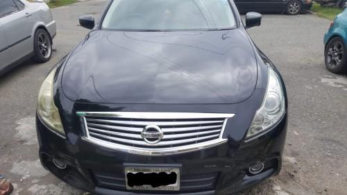 2011 Black Nissan Skyline 250GT