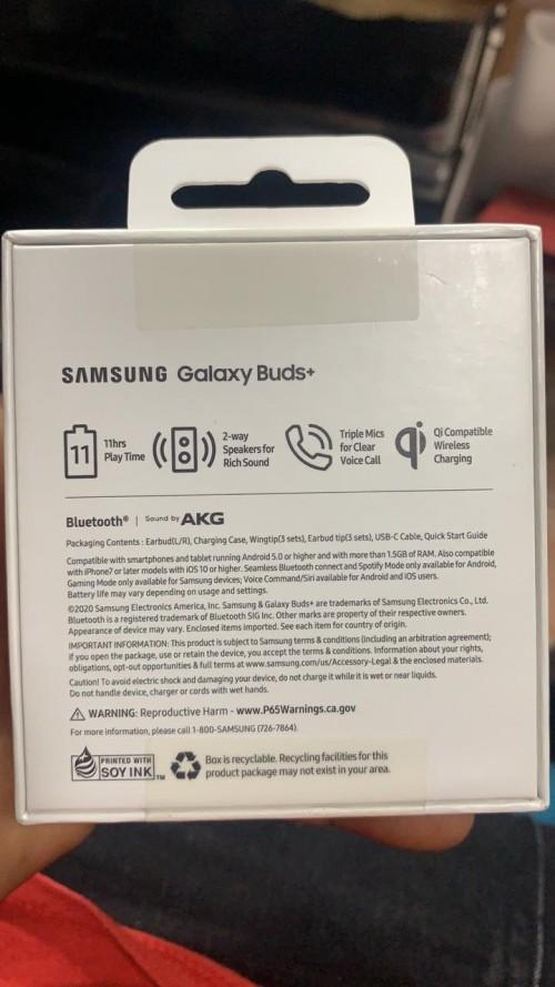 Samsung Ear Buds+