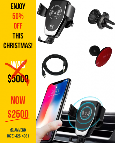 Super Fast Wireless Car Chargers!