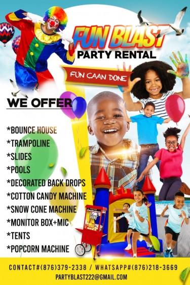 Fun Blast Party Rental