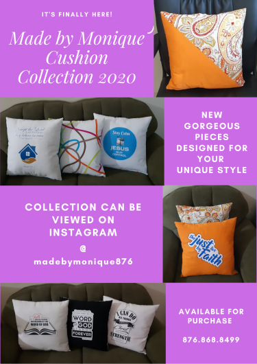 Custom Made Throw Cushions