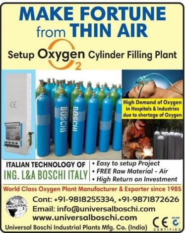 Liquid Nitrogen Manufacturing Plant