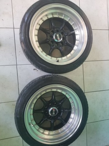 Lightweight Stance Offset Wheels With Tires